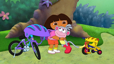 Dora the Explorer - Boots' First Bike