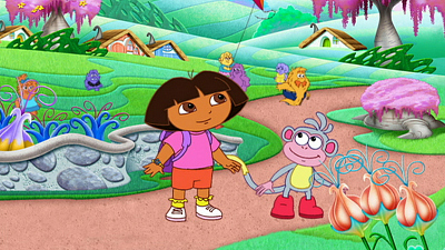 Dora the Explorer - Dora in Troll Land