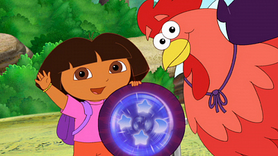Dora the Explorer - The Big Red Chicken's Magic Wand