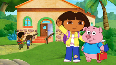 Dora the Explorer - Pepe's School Day Adventure