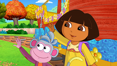 Dora the Explorer - Dora's Thanksgiving Day Parade