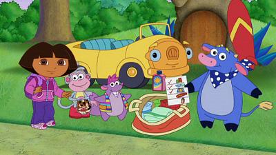 Dora the Explorer - Vacaciones!