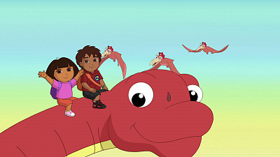 Dora the Explorer - Dora and Diego in the Time of Dinosaurs