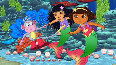 Dora the Explorer - Dora's Rescue in Mermaid Kingdom