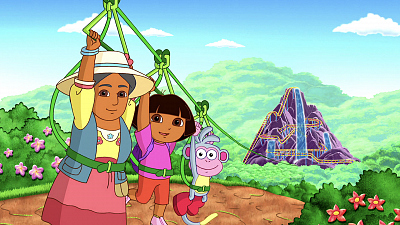 Dora the Explorer - Riding the Roller Coaster Rocks