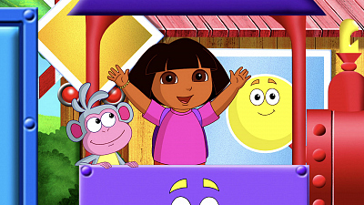 Dora the Explorer - Catch that Shape Train