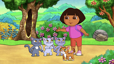 Dora the Explorer - Kittens in Mittens