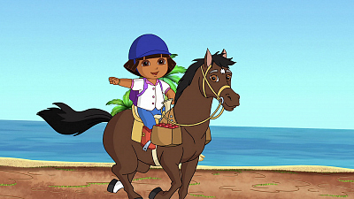 Dora the Explorer - Dora's and Sparky's Riding Adventure!