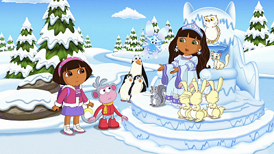 Dora the Explorer - Dora's Ice Skating Adventure