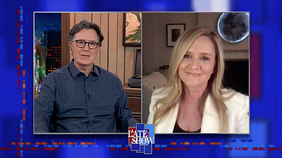The Late Show with Stephen Colbert - Samantha Bee On The Challenges Of Making A Comedy Show When The News Is So Upsetting