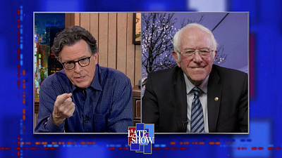 """The Late Show with Stephen Colbert - """"Congress Is Going To Have To Rise Up And Be Extremely Bold"""" - Sen. Sanders On America's Way Forward"""