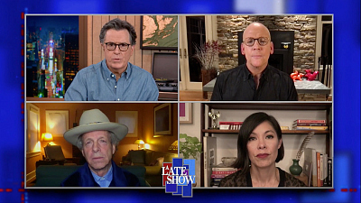 """The Late Show with Stephen Colbert - """"A World Of Paranoid Conspiracy"""" Alex Wagner On The Alt Reality In Which The President's Base Lives"""