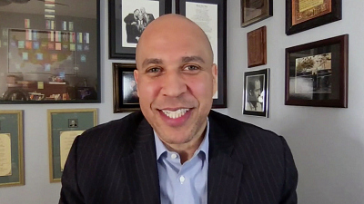 """The Late Show with Stephen Colbert - """"A Poverty Of Empathy"""" - Sen. Cory Booker On America's Failure To Address Racism In Policing"""