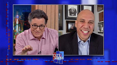 """The Late Show with Stephen Colbert - """"We Can't Have Healing Without Accountability"""" - Sen. Booker On Punishing Those Who Told The Big Lie"""