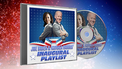 The Late Show with Stephen Colbert - This Inauguration Playlist Definitely Doesn't Have A Hidden Message
