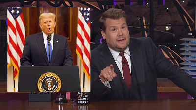 The Late Late Show with James Corden - There's Only a Few Hours Until Trump Is Dumped