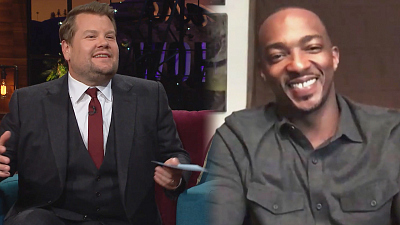 The Late Late Show with James Corden - Is Anthony Mackie the New Captain America or What?