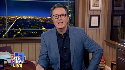 The Late Show with Stephen Colbert - President Biden's Joyful Inauguration Day Felt Like A Return To Normalcy - LIVE MONOLOGUE
