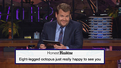 The Late Late Show with James Corden - Honest Headlines - What News Is Really Saying