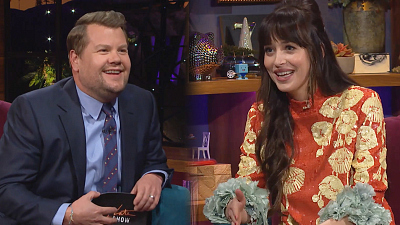 The Late Late Show with James Corden - Dakota Johnson's First Tattoo Was a Statement