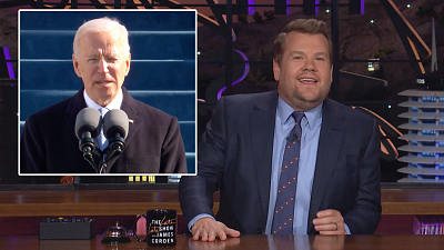 The Late Late Show with James Corden - Joe Biden Is Officially POTUS 46