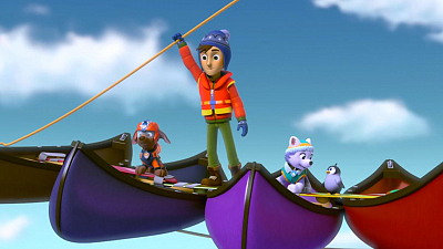 PAW Patrol - Pups Save A Teeny Penguin/Pups Save the Cat Show