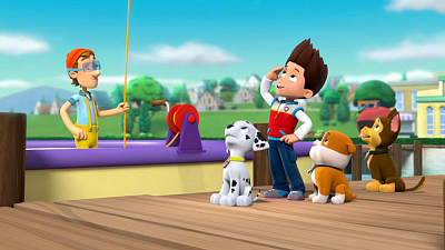 PAW Patrol - Pups Save a Blimp/Pups Save A Chili Cook-Out