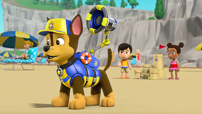 PAW Patrol - Sea Patrol: Pups Save a Shark/Sea Patrol: Pups Save the Pier
