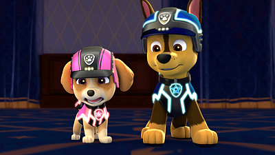 PAW Patrol - Mission PAW: Royally Spooked!/Pups Save Monkey-Dinger