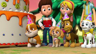 PAW Patrol - Pups Save Jake's Cake/Pups Save a Wild Ride