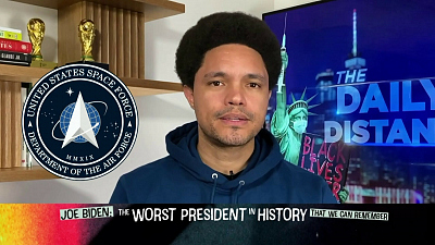 The Daily Show with Trevor Noah - The Daily Social Distancing Show - February 8, 2021