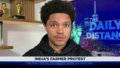 The Daily Show with Trevor Noah - The Daily Social Distancing Show - February 9, 2021