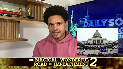 The Daily Show with Trevor Noah - The Daily Social Distancing Show - February 10, 2021