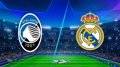 UEFA Champions League - Atalanta vs. Real Madrid
