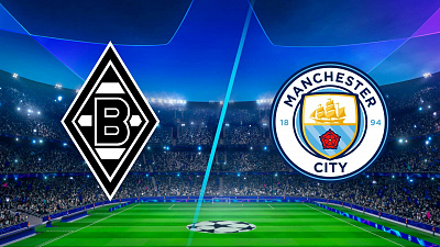 UEFA Champions League - Mönchengladbach vs. Man. City