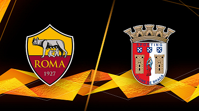 UEFA Europa League - Roma vs. Braga