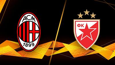 UEFA Europa League - AC Milan vs. Crvena Zvezda