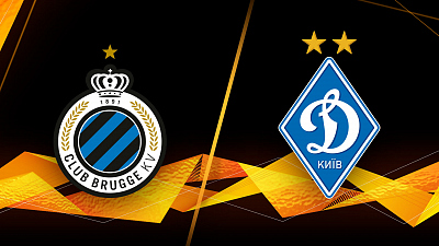 UEFA Europa League - Club Brugge vs. Dynamo Kyiv