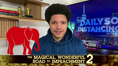 The Daily Show with Trevor Noah - The Daily Social Distancing Show - February 15, 2021