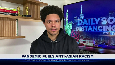 The Daily Show with Trevor Noah - The Daily Social Distancing Show - February 16, 2021