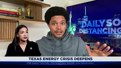 The Daily Show with Trevor Noah - The Daily Social Distancing Show - February 17, 2021