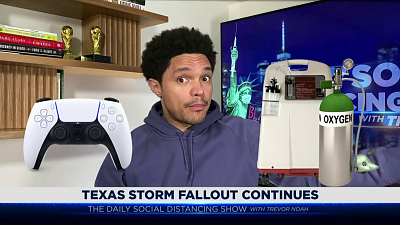 The Daily Show with Trevor Noah - The Daily Social Distancing Show - February 22, 2021