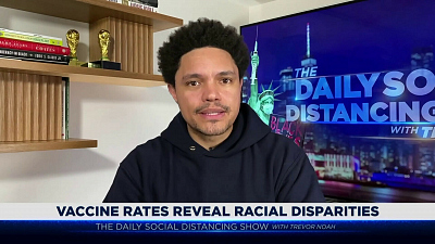 The Daily Show with Trevor Noah - The Daily Social Distancing Show - February 24, 2021