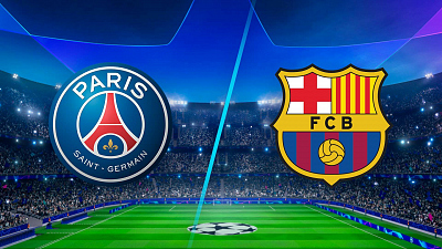 UEFA Champions League - PSG vs. Barcelona