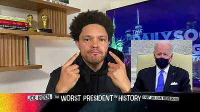 The Daily Show with Trevor Noah - The Daily Social Distancing Show - March 4, 2021