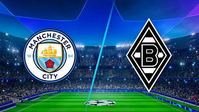 UEFA Champions League - Man. City vs. Mönchengladbach