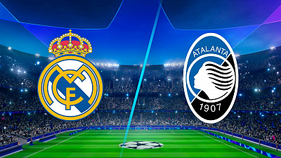 UEFA Champions League - Real Madrid vs. Atalanta