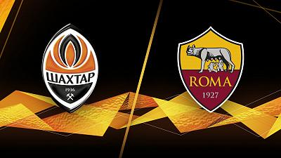 UEFA Europa League - Shakhtar Donetsk vs. Roma