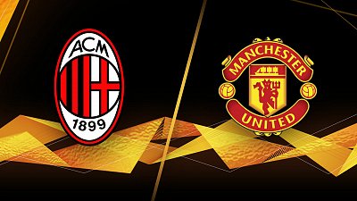UEFA Europa League - AC Milan vs. Man. United