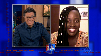 The Late Show with Stephen Colbert - 3/16/21 (Lupita Nyong'o, Martin Freeman)
